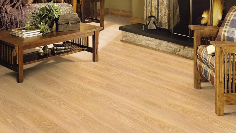 Công trình sàn gỗ công nghiệp Janmi