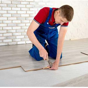 Chuẩn bị bề mặt sàn nhà kỹ càng trước khi lắp